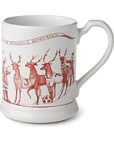 Polka-Dot Penguin Exclusives   Juliska Reindeer Games Mug $44.00
